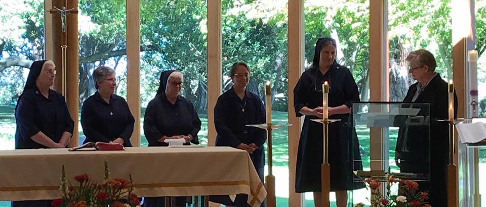 October 22, 2017, New Provincial Council for the Daughters of Charity, Province of Los Altos HIlls was installed. Blessed be God!